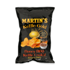 Martin's Kettle Gold Potato Chips Honey BBQ