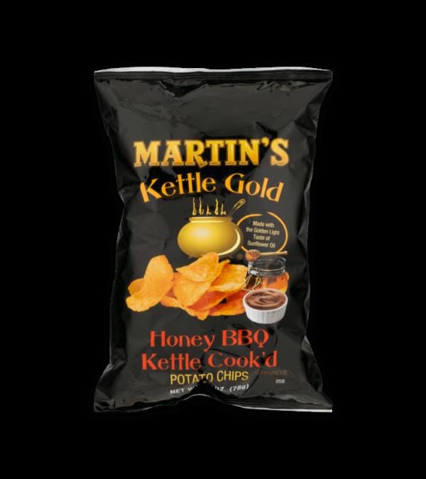 Martin's Kettle Gold Potato Chips Honey BBQ