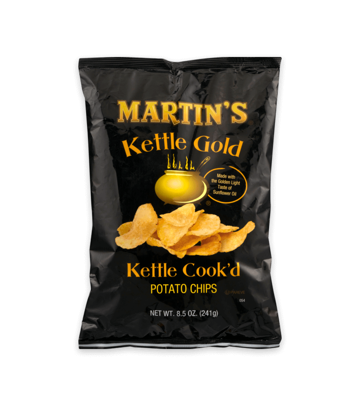 Martin's Kettle Gold Potato Chips Kettle Cook'd