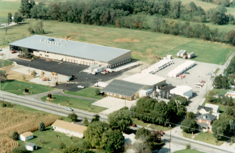 Aerial View of Office and Plant